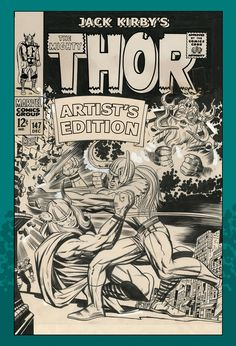 Jack Kirby's The Mighty Thor Artist's Edition HC