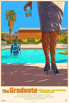 The Graduate Poster by Laurent Durieux
