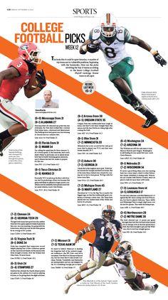 College Football|Epoch Times #Football #editorialdesign