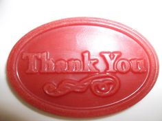 12 Thank You Soy Wax Tart Melts Red Hot by SpunkyMomEmporium, $8.75