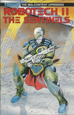 Robotech 2 The Sentinels comic issue 7