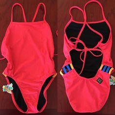 Jolyn Clothing Swim - NWT Gavin Lava/Orange/Deep Blue Sea Onesie