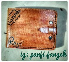 Wallet hand made,(leather)