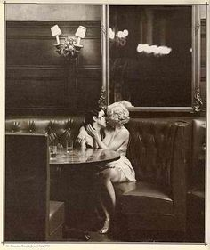 Vintage lesbian love