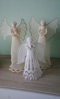 Crochet Angels, Elephant, Christmas Decorations, Holidays, Knitting, Crafts, Dot Patterns, Innovative Products, Xmas