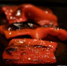 How to Roast Peppers in the Oven --works for many different peppers !---Shorten the cooking time for smaller peppers! Grilling Recipes, Vegetable Recipes, Cooking Recipes, Healthy Recipes, Cooking Tips, Healthy Meals, How To Cook Asparagus, Roasted Red Peppers, Roasted Corn