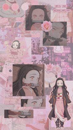 Cute Patterns Wallpaper, Cute Anime Wallpaper, Wallpaper Iphone Cute, Of Wallpaper, Cute Wallpapers, Anime Collage, Anime Art, Demon Slayer, Slayer Anime