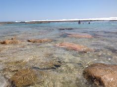 Snorkelling at Blue Holes, Kalbarri