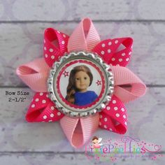 American Girl Doll Birthday Party Favor Hair Bows by PixiePretties, $4.00