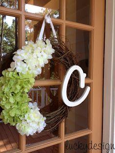I want! Easy Summer Wreath
