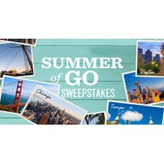 Have you heard of the #SummerofGo Sweeps? The Grand Prize is a 7-night trip for 4 to Hawaii. Get extra chances for every friend that you invite to enter!