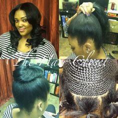 summer hairstyles baddie summer hairstyles step by step summer hairstyles weave Sew In Hairstyles, African Braids Hairstyles, Summer Hairstyles, Pretty Hairstyles, Braided Hairstyles, Hairstyle Ideas, Curly Hair Styles, Natural Hair Styles, Pinterest Hair