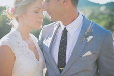 Beautiful couples wedding portrait.