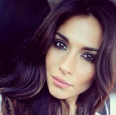 Pia Miller's smokey eye make up is so sexy. Love her brows & hair too.