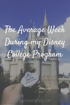 The Average Week During my Disney College Program - Disney Dorm, Disney Trips, Disney Parks, Walt Disney World, Disney Disney, Disney World Jobs, Disney Bound, Disney Magic, Adventure Couple