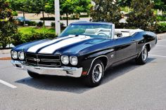 1970 Chevrolet Chevelle SS Real 454 LS5 Black, for sale in United States, $14,500.