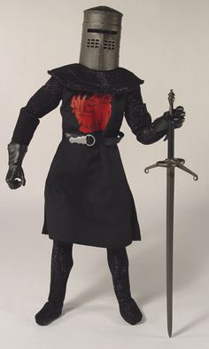 The Black Knight - before he lost an arm and a leg.