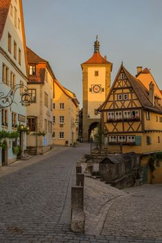 Rothenburg ob der Tauber by Ralf Daeuber on 500px