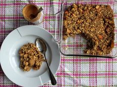 Apple and Cinnamon Baked Oats - one of my favourite breakfast recipes created for @Vivolifeuk