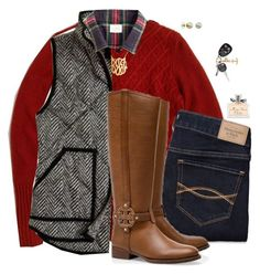 Day 1 of PSG Thanksgiving Contest by sc-prep-girl on Polyvore featuring polyvore, мода, style, Tory Burch, J.Crew, Majorica, Christian Dior, Abercrombie & Fitch, Kate Spade and 5setsofthanksgiving