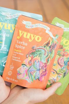 You must try YuYo's Yerba Mate Tea! Its got more than a kick than your standard coffee, but with non of the crash. This tea is for sure the new way to caffeinate!