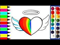 How to draw a Cute Rainbow Star - Cute and Easy | BoDraw - YouTube