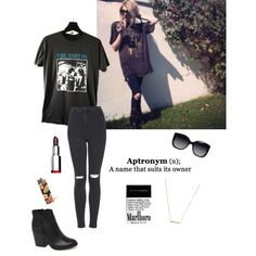 Frances Bean Cobain Inspired by email-xl on Polyvore featuring polyvore, fashion, style, Topshop, Dolce Vita and Madewell