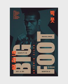 MMA Posters by Bogdan Kociuba, via Behance