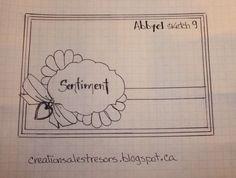Sketch carte - boutique Art du Scrapbooking par Abbyel 2014