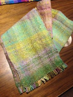 Noro Aya Woven Scarf in Plain Weave project on Craftsy.com