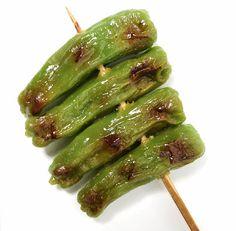 【食品サンプル】ししとう串焼き (ワケあり品につき特価)【和食】