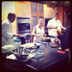 A sneak peak during our Boca Minute shoot! #publix #cookingclass #Thanksgiving