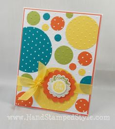Hand Stamped Style: Cards