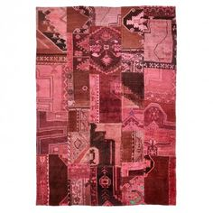 "Color Reform Patchwork Wool Rug - 8'2""x11'6"" #exclusive #handmade"