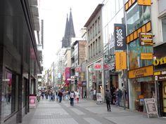 Einkaufsstrasse Köln