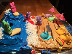 "O'Brien Family peep contest ""Peep Day at The Beach"""