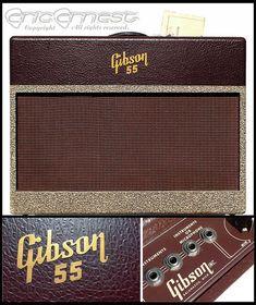 1955 Gibson GA55 tube guitar amplifier