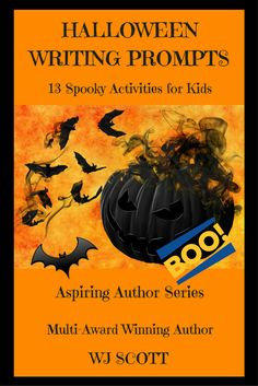 Halloween Writing Prompts, Book 1, Activities For Kids, Author, Fire, Amazon, Gifts, Amazons, Presents