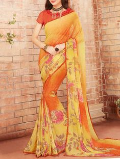 Check out what I found on the LimeRoad Shopping App! You'll love the yellow & orange printed saree. See it here http://www.limeroad.com/products/14173523?utm_source=148de40883&utm_medium=android