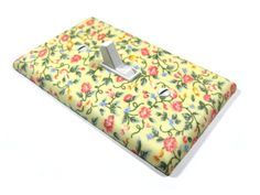 Yellow Spring Flowers Light Switch Cover Shabby by ModernSwitch, $10.00