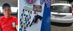 NONATO NOTÍCIAS: CPAC E CETO PRENDEM ACUSADOS COM ARMA DE FOGO EM F...