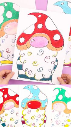 Easy Drawings For Kids, Art Drawings Sketches Simple, Drawing For Kids, Art For Kids, Free Printable Art, Printable Crafts, Family Painting, Painting For Kids, Sunday School Projects