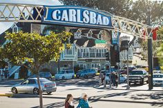 With new, widened, buffered bike lanes, more roundabouts, and community bikeabaouts- Carlsbad wants to convince people to leave the car at home. #SDMNeighborhoods