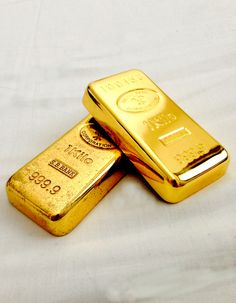 Gold Ingots ~ Old and New