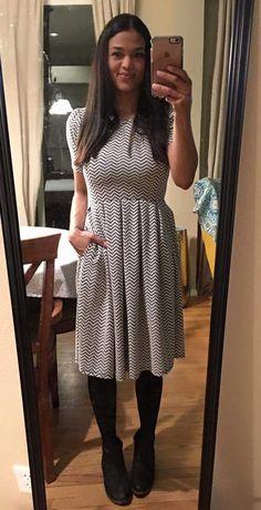 Amelia dress goes date night!