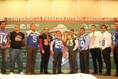 Presentan Temporada 2012 de Conferencia Premier... Los 18 equipos que conforman la Conferencia Premier de football americano de la CONADEIP estuvieron presentes en la oficialización de la temporada 2012 que arrancará el próximo fin de semana.