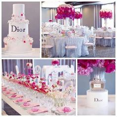 Dior bridal shower party