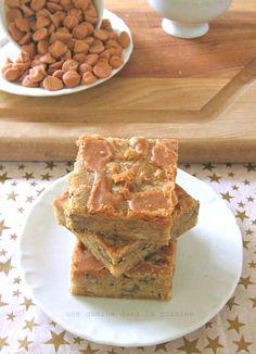 Maple Walnut Blondies with Butterscotch Glaze from @Valerie ¦¦ une gamine