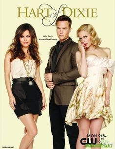 Rachel Bilson (Dr. Zoe Hart) , Scott Porter (George Tucker) , & Jaime King (Lemon Breeland) - Hart of Dixie