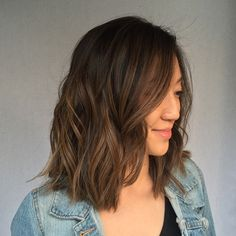 From almost a solid darkest brown color on the ends to a low maintenance…